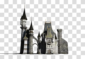 Fantasy Castle transparent background PNG cliparts free download HiClipart