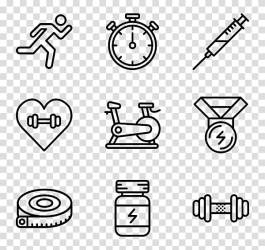 Computer Icons Physical fitness Exercise Fitness Centre fitness icon transparent background PNG clipart HiClipart