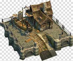Anno 1404 Middle Ages Building Architecture Concept art fantasy Map transparent background PNG clipart HiClipart