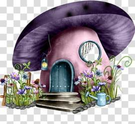 Fairy tale Cartoon House Stump house transparent background PNG clipart HiClipart