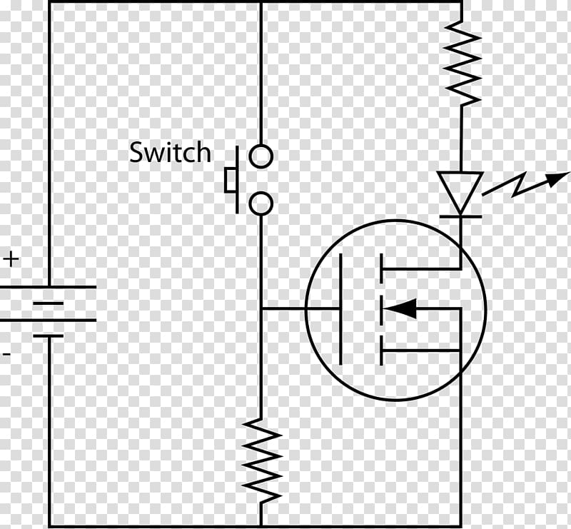 MOSFET Field-effect transistor Circuit diagram Electronic