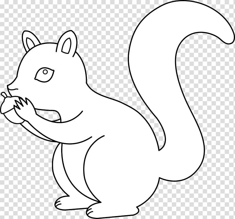 black squirrel drawing squirrel
