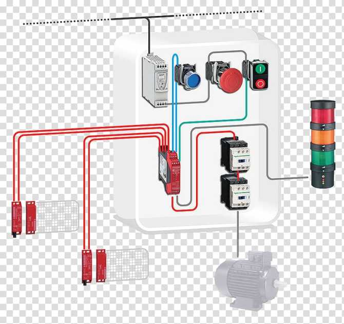 contactor schneider electric wiring diagram safety machinery