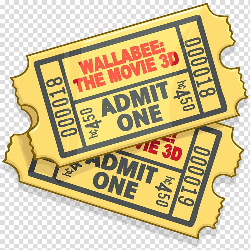 ticket cinema disaster film