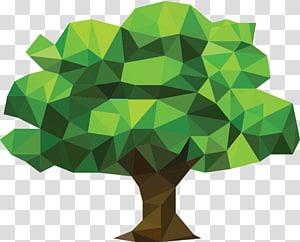tree low poly child