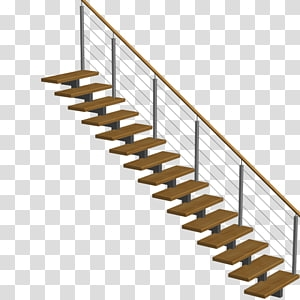 Stairs Window Handrail Planning Stairs Transparent Background Png | Sweet Home 3D Custom Stairs | Mural | Mezzanine | Interior Design | Mezzanine Floor | 3D Models