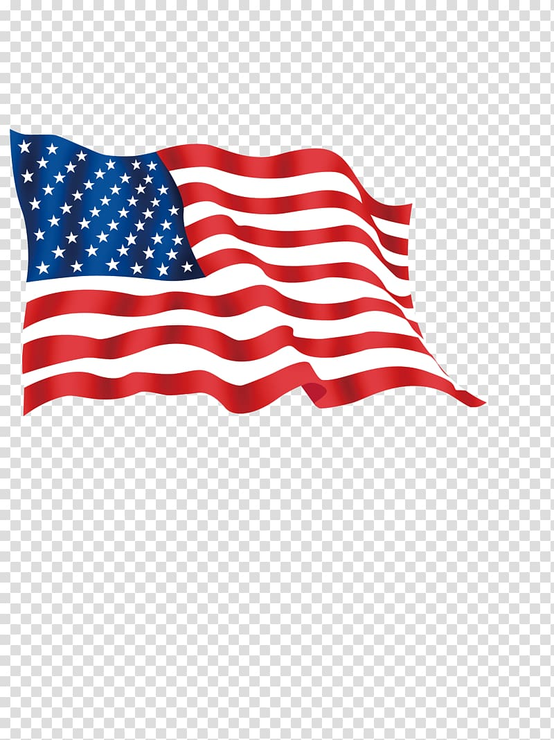 American Flag Waving Png : american, waving, Flag,, United, States, American, Transparent, Background, Clipart, HiClipart