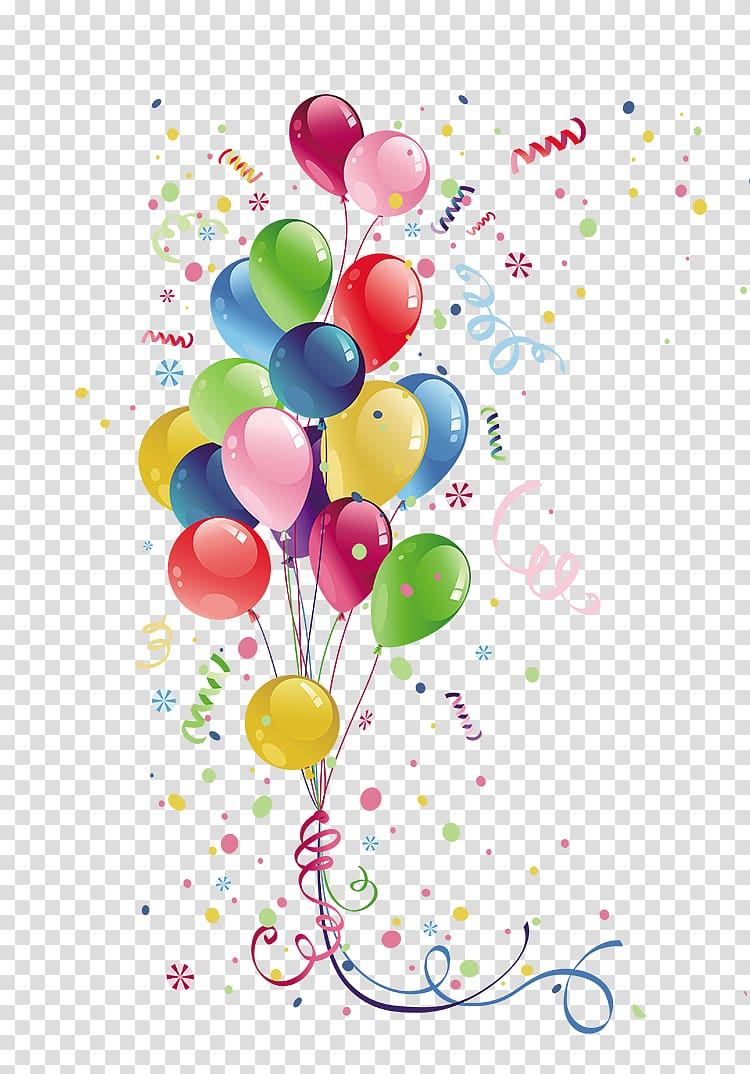 medium resolution of balloons illustration party balloon birthday colorful balloons transparent background png clipart