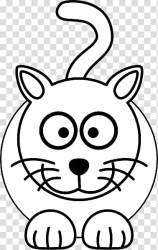 Black cat Kitten Cartoon simple cat transparent background PNG clipart HiClipart