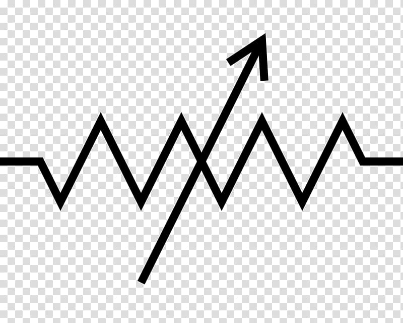Potentiometer Resistor Electronic symbol Wiring diagram