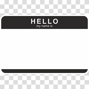 Name Tag Transparent Background Png Cliparts Free Download