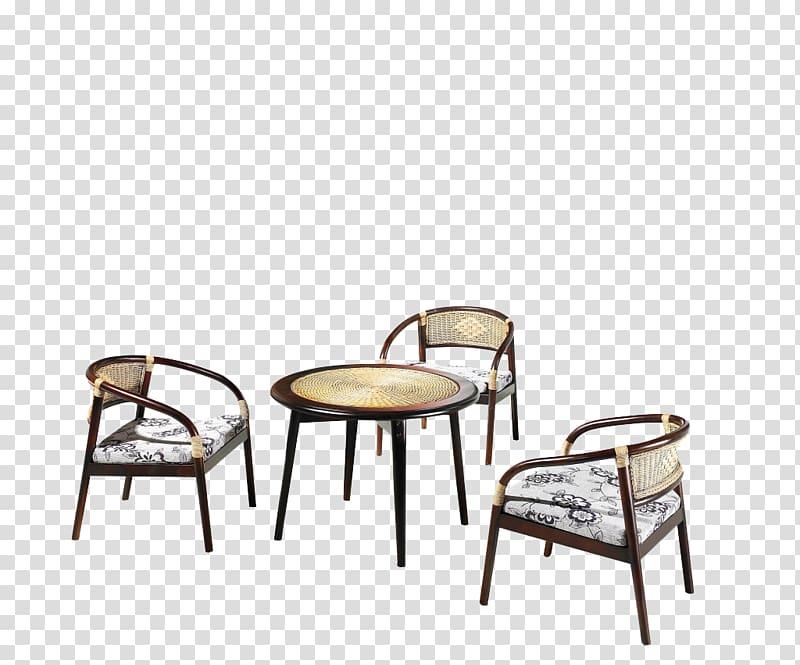 coffee table chair furniture rattan