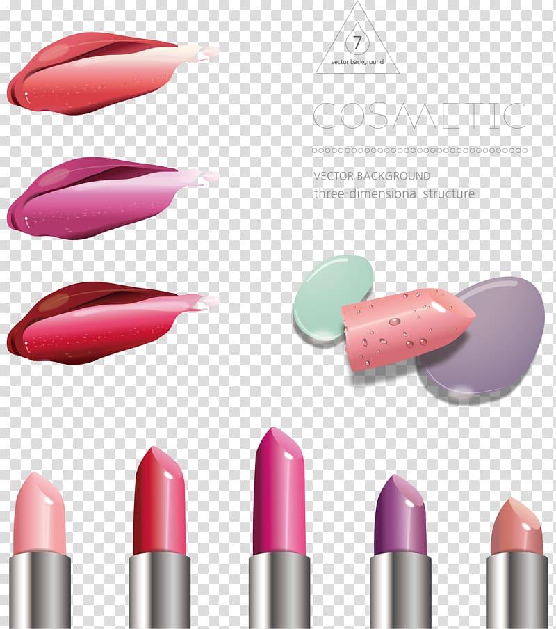 lipstick watercolor painting lipstick