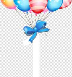 party balloons with ribbon illustration birthday cake balloon gift birthday balloons transparent background png clipart [ 666 x 1253 Pixel ]