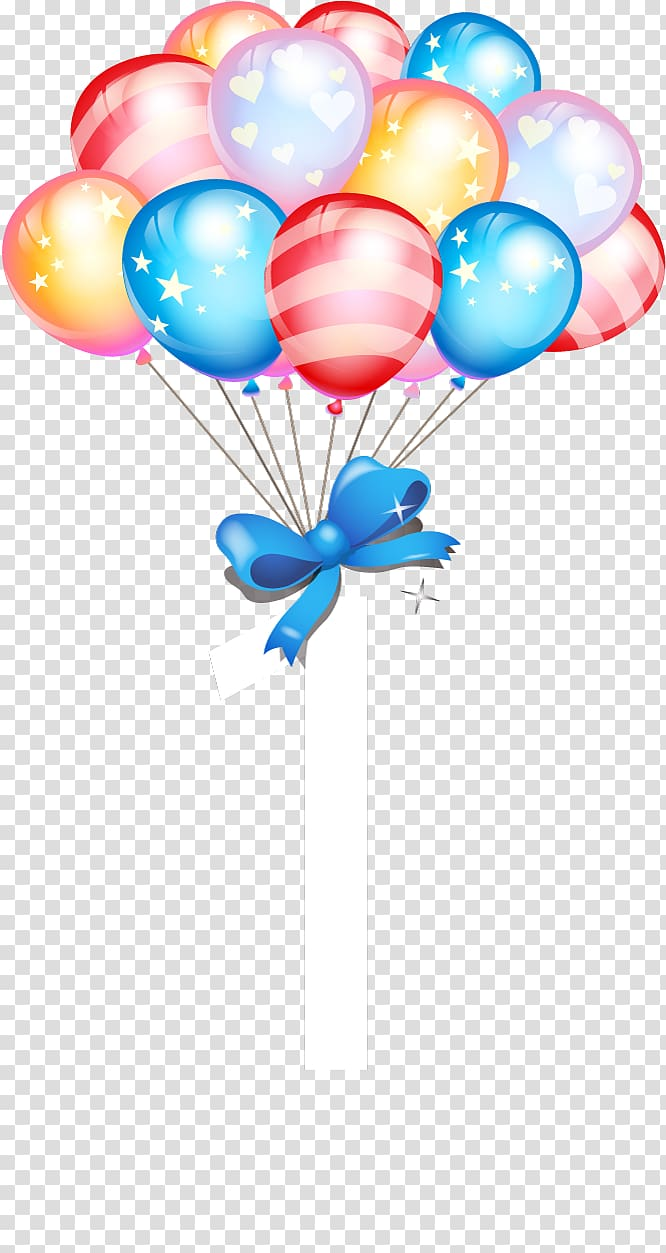 medium resolution of party balloons with ribbon illustration birthday cake balloon gift birthday balloons transparent background png clipart