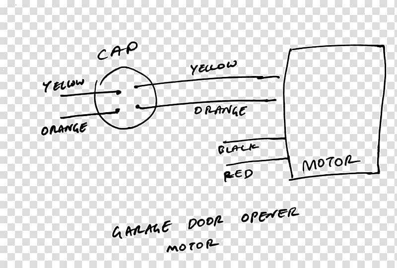 Start Capacitor Wiring Diagram : Capacitor Start Run