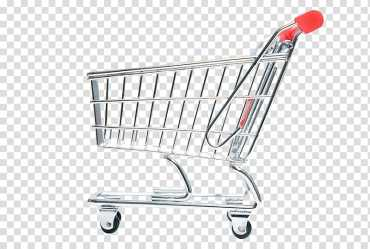 Shopping cart Computer file Silver Shopping Cart transparent background PNG clipart HiClipart