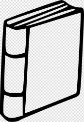 Black and White Book Book transparent background PNG clipart HiClipart