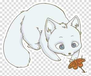 Arctic fox Drawing Snowy owl arctic fox transparent background PNG clipart HiClipart