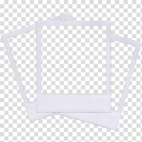 three white frames instant