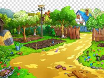 House Garden transparent background PNG cliparts free download HiClipart