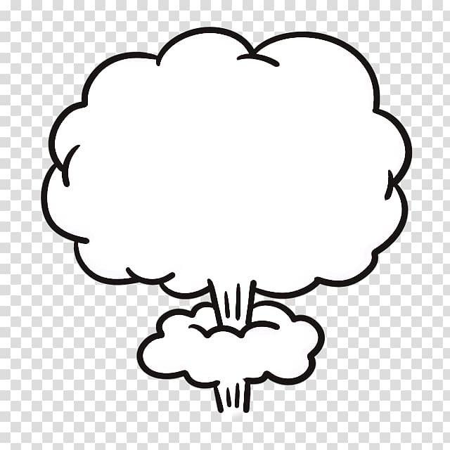 Smoke , Mushroom cloud Cartoon Explosion, Jet Icon