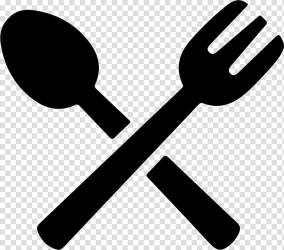 Fizzy Drinks Computer Icons Meal Food Lunch food icon white spoon and fork illustration transparent background PNG clipart HiClipart