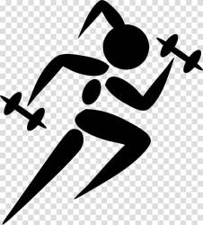 Running Computer Icons Woman workout transparent background PNG clipart HiClipart