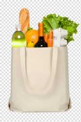 Beige shopping bag Plastic bag Grocery store Reusable shopping bag Shopping bags and food transparent background PNG clipart HiClipart
