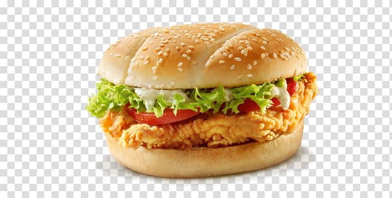 hamburger kfc chicken sandwich