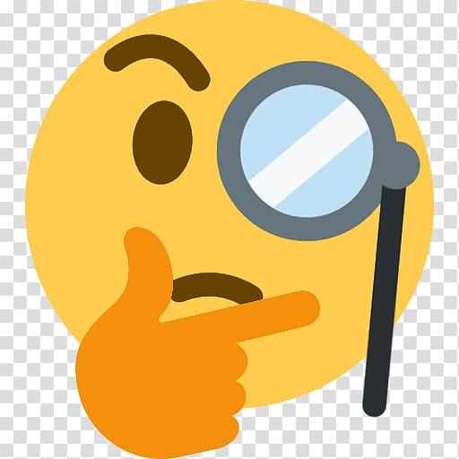 thinking emoji sticker thought