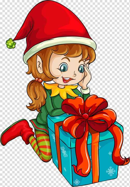small resolution of santa claus christmas cartoon elf transparent background png clipart