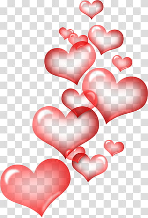 Heart Background Png : heart, background, Heart, Transparent, Background, Cliparts, Download, HiClipart