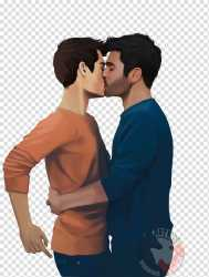 Drawing Love Teen Wolf Yaoi harry potter cute transparent background PNG clipart HiClipart