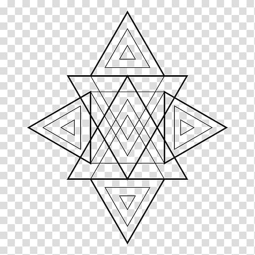 Triangle Sacred geometry Geometric shape Area, diamond