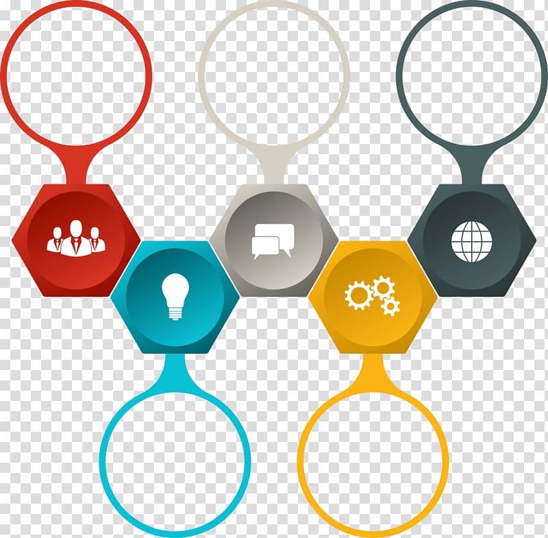 message gears bulb globe