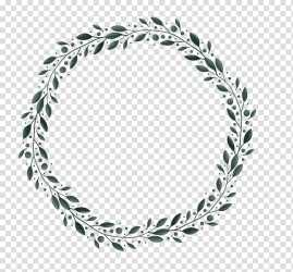 Leaves Border transparent background PNG cliparts free download HiClipart