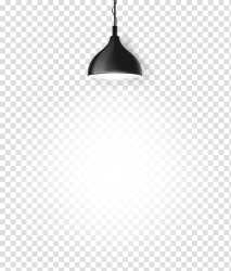 White Black Pattern Cartoon lamp transparent background PNG clipart HiClipart