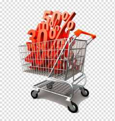 Grocery store Sales Food Discount shop shopping cart transparent background PNG clipart HiClipart