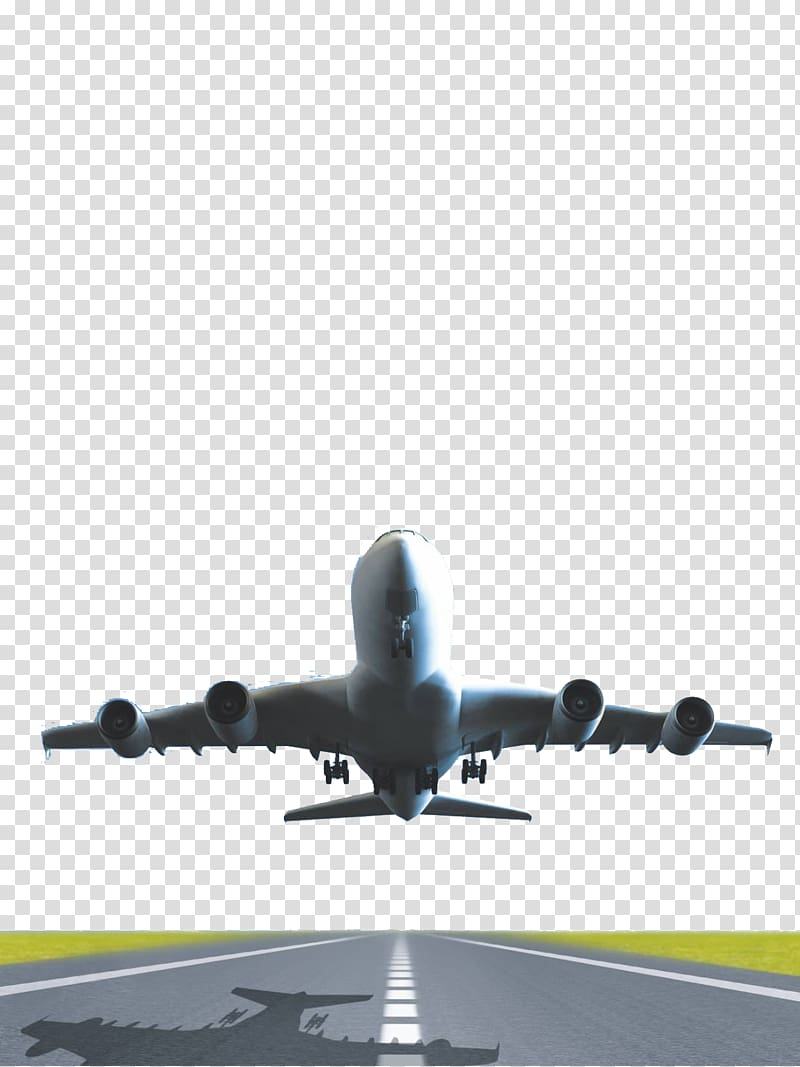 Plane Clipart Transparent : plane, clipart, transparent, White, Airliner, Illustration,, Airplane, Aircraft, Takeoff, Gyroscope,, Transparent, Background, Clipart, HiClipart