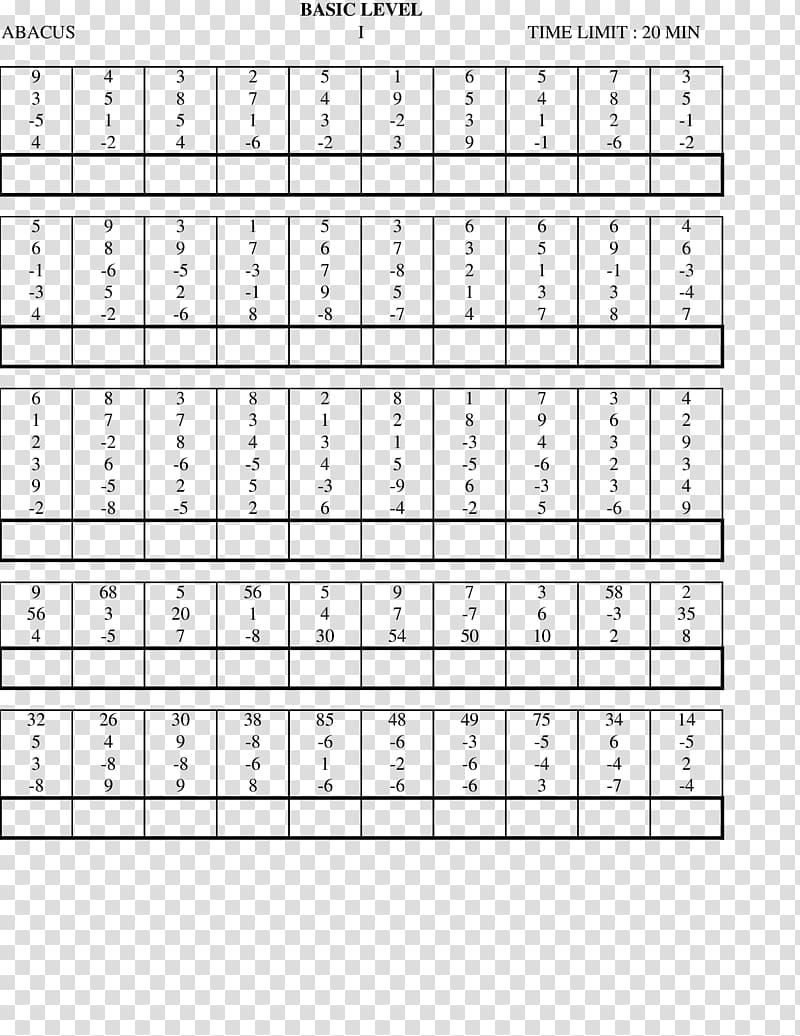 hight resolution of Mental abacus Worksheet Mathematics First grade