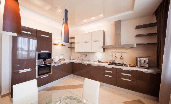 cleaning kitchen floors modern decor 厨房地板油污重如何有效的擦干净 清洁门户