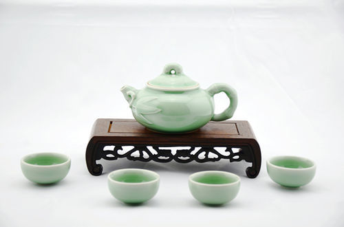 青瓷茶具_360百科