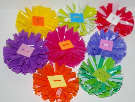 Fabriquer des fleurs en plastique   crer  la folie
