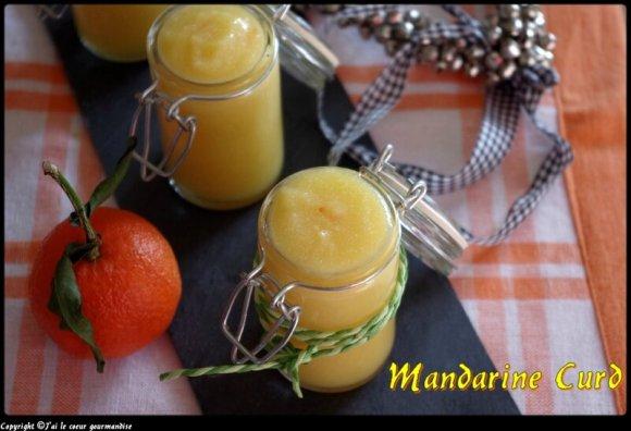mandarine curd