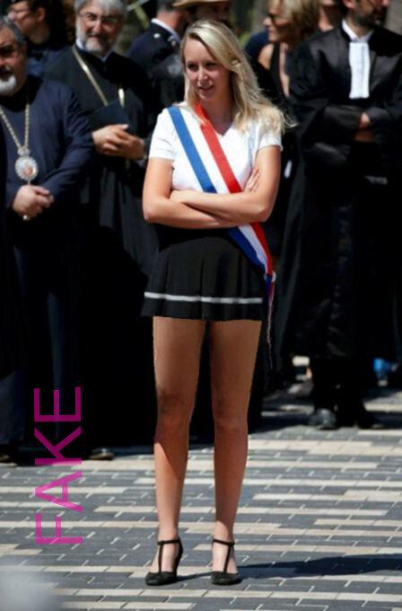 Marion Marechal Le Pen Sexy : marion, marechal, Marion, Maréchal, L'important, Hauteur, Idées,, Jupe...mais, Servir, Photos, Truquées, Amusantes