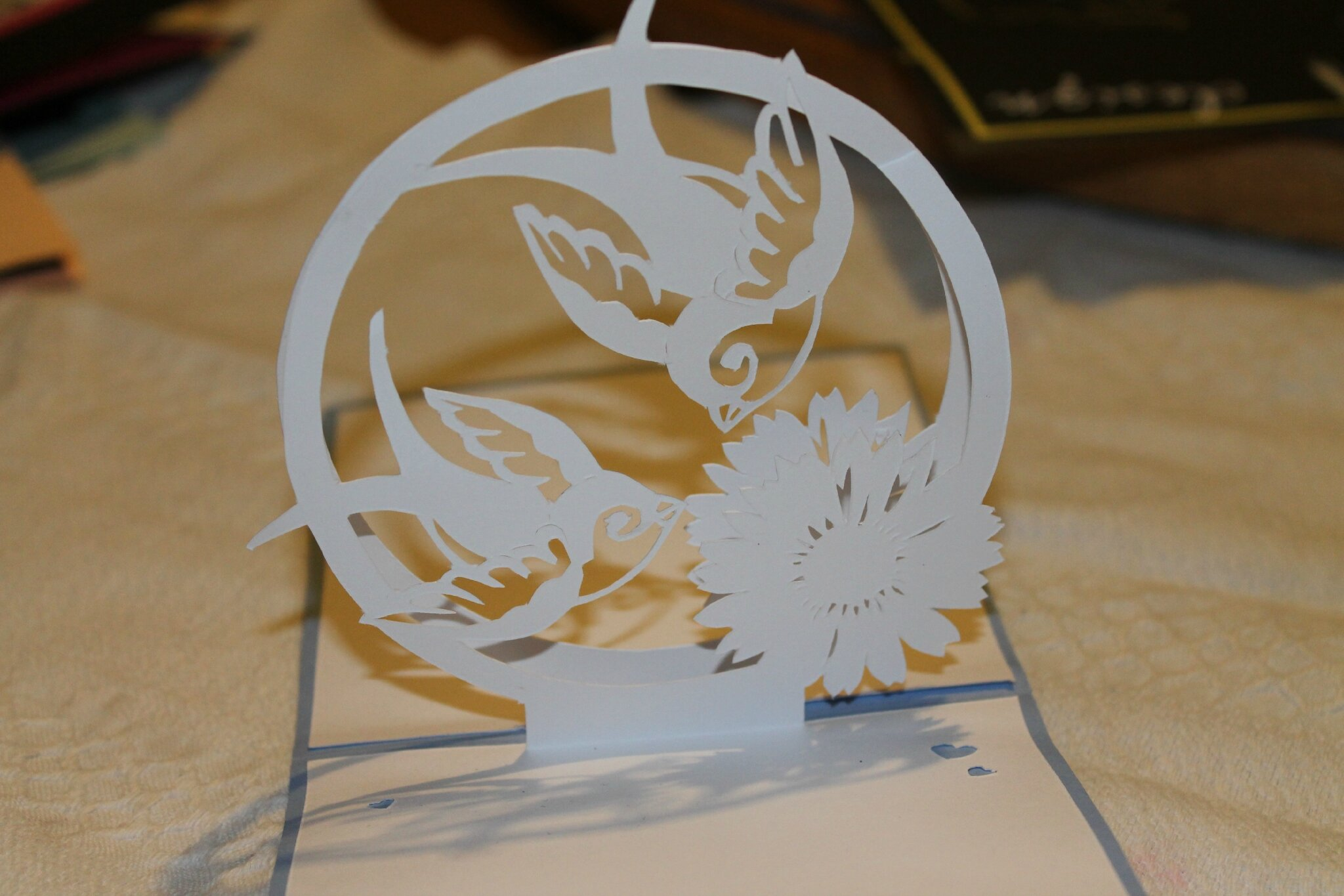 Cartes Kirigami Anniversaire Suiteet Autres Occasion