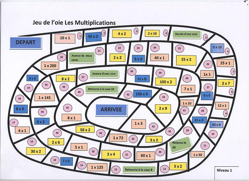coloriage magique table de multiplication 2 3 4 5 dessincoloriage