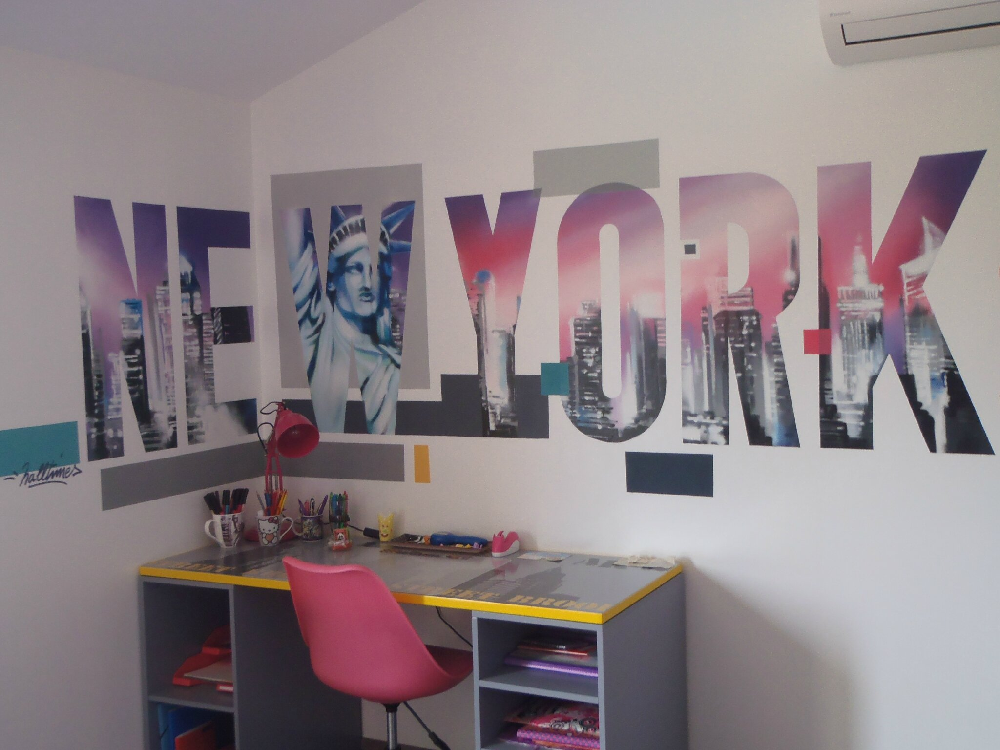 Best Une Chambre Urbaine Style Newyork With Chambre Style