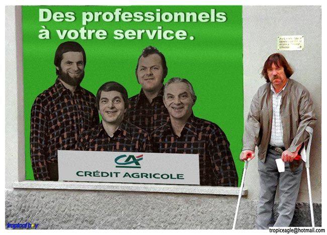 """Résultat de recherche d'images pour """"crédit agricole humour"""""""